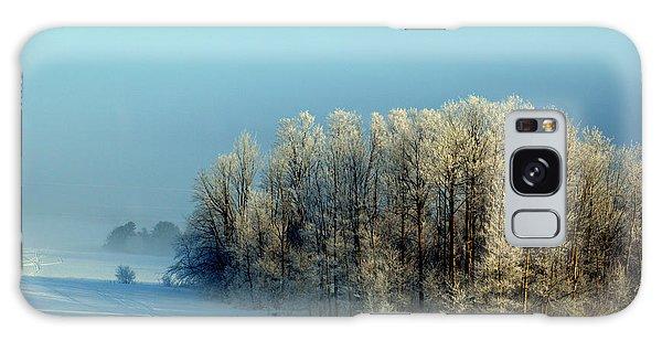Winter's Heavy Frost Galaxy Case
