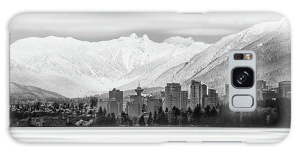 Winterscape Vancouver Galaxy Case