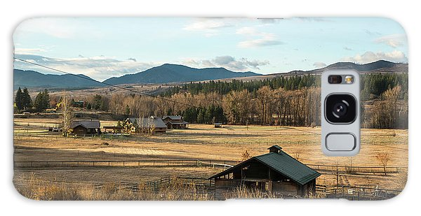 Winthrop Morning Pastures Galaxy Case