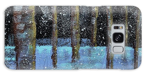 Wintry Scene I Galaxy Case