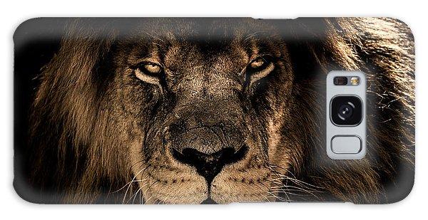 Wise Lion Galaxy Case