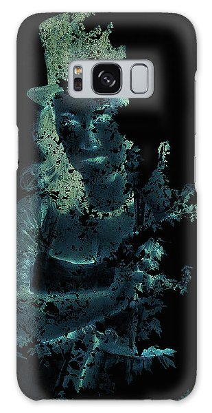 Within The Leaves Galaxy Case