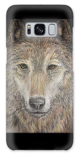 Houlton Galaxy Case - Wolf by Richard John Houlton