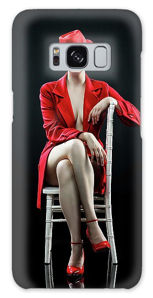 Erotic Galaxy Case - Woman In Red by Johan Swanepoel