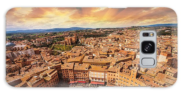 Attraction Galaxy Case - Wonderful Aerial View Of Piazza Del by Pisaphotography