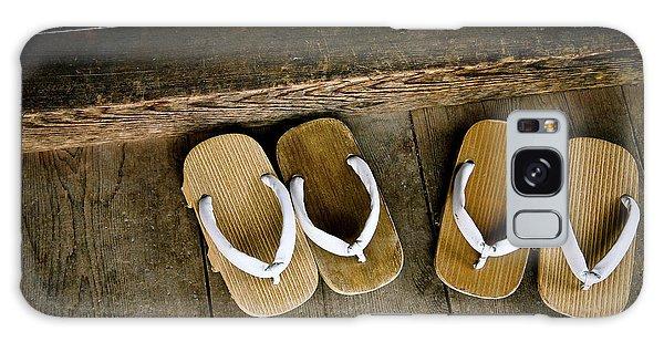 Bath Galaxy Case - Wood Sandals by Kenneth Dedeu