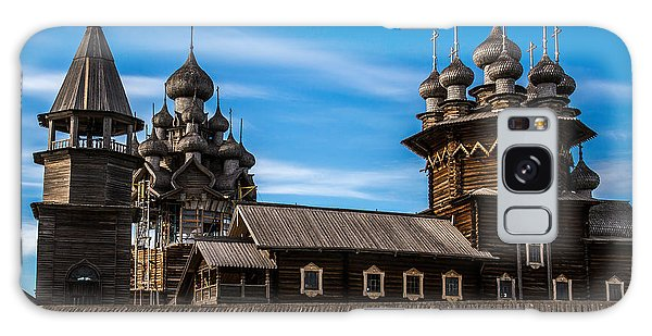 Russia Galaxy Case - Wooden Architecture Nordic Countries by Timin