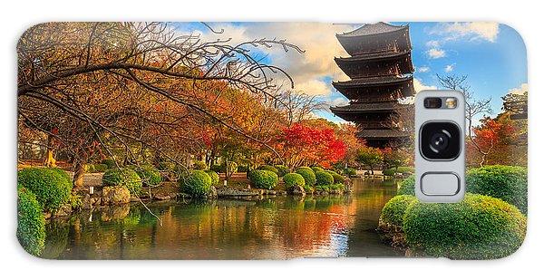 Kansai Galaxy Case - Wooden Pagoda Of Toji Temple, Kyoto by Krunja