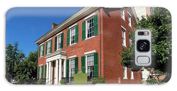 Woodrow Wilson Boyhood Home - Augusta Ga 2 Galaxy Case