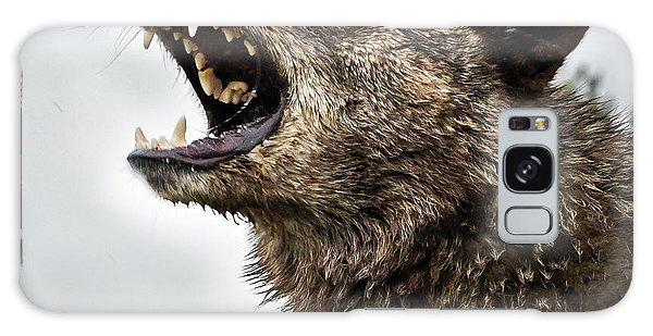 Woof Wolf Galaxy Case