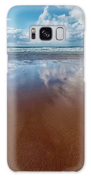 North Devon Galaxy Case - Woolacombe Beach by Smart Aviation