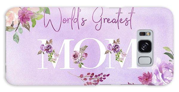 World's Greatest Mom 2 Galaxy Case