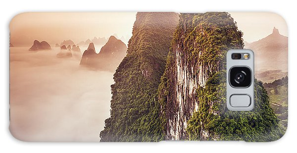 Dawn Galaxy Case - Xingping, Guilin, China Karst Mountains by Sean Pavone