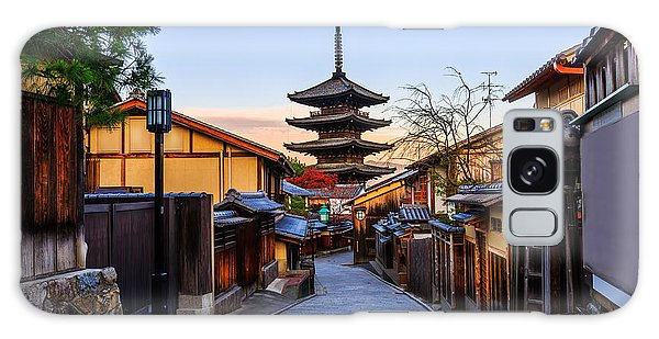 Kansai Galaxy Case - Yasaka Pagoda And Sannen Zaka Street In by Krunja