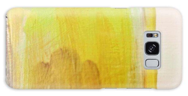 Yellow #3 Galaxy Case