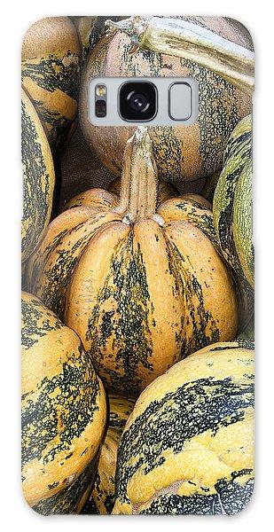 Yellow And Green Pumpkins Galaxy Case