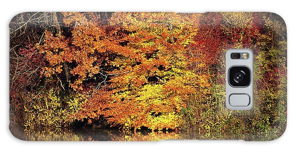 Galaxy Case featuring the photograph Yellow Autumn Leaves by Mike Murdock