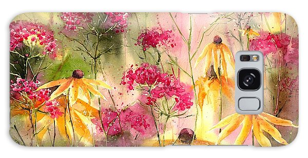 Orchid Galaxy Case - Yellow Ballerinas by Suzann's Art