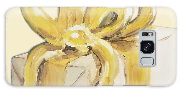 Yellow Present Galaxy Case