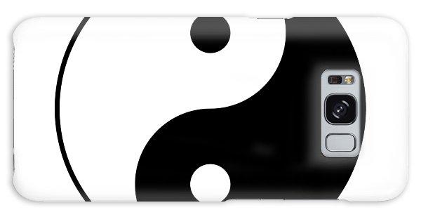 Yin And Yang Galaxy Case