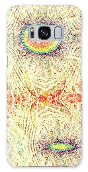 Yonic Rainbow Galaxy Case