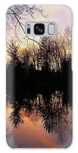 Houlton Galaxy Case - York River Sunset by Richard John Houlton