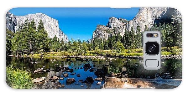Usa Galaxy Case - Yosemite National Park, Mountains And by Mikhail Kolesnikov