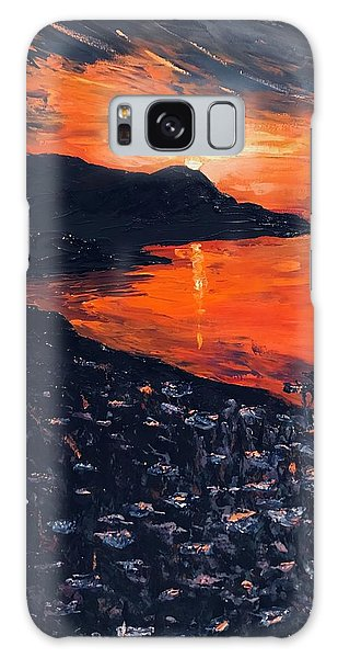You Make The Sunset Shout For Joy Galaxy Case