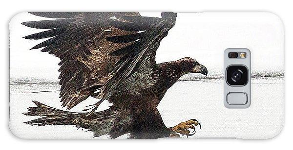 Young Bald Eagle Galaxy Case