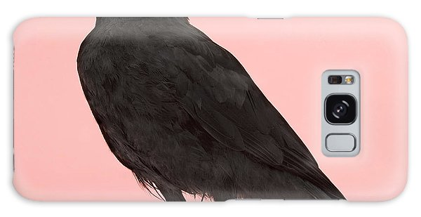 Claws Galaxy Case - Young Carrion Crow - Corvus Corone 3 by Eric Isselee