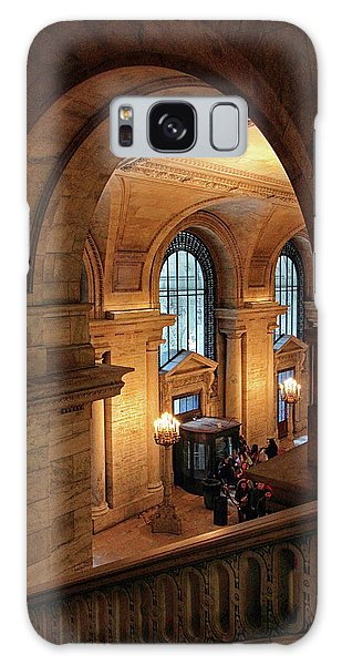 Banister Galaxy Case - Library Overlook by Jessica Jenney