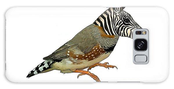 Galaxy Case - Z Is For Zebra Finch Thats Not A Zebra Finch by Joan Stratton