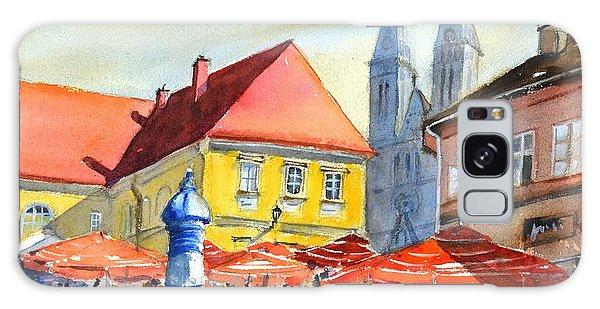 Zagreb Near Dolce Market Galaxy Case