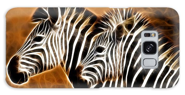 Brothers Galaxy Case - Zebra Brother by ArtMarketJapan