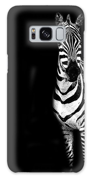 Zebra Drama Galaxy Case