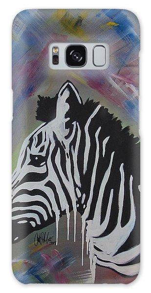 Zebra Drip Galaxy Case