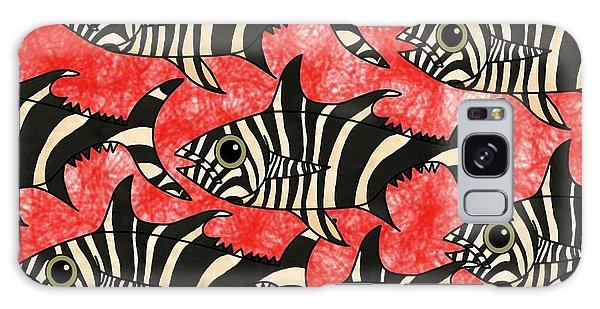 Zebra Fish 5 Galaxy Case