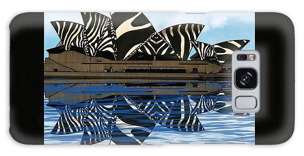 Zebra Opera House 4 Galaxy Case