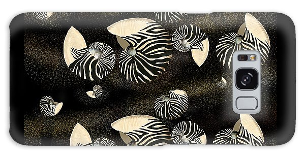 Zebra Pattern Nautilus Shells6 Galaxy Case