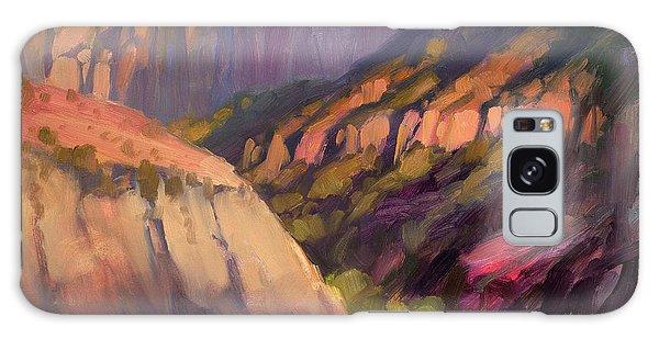 Scenery Galaxy Case - Zion's West Canyon by Steve Henderson