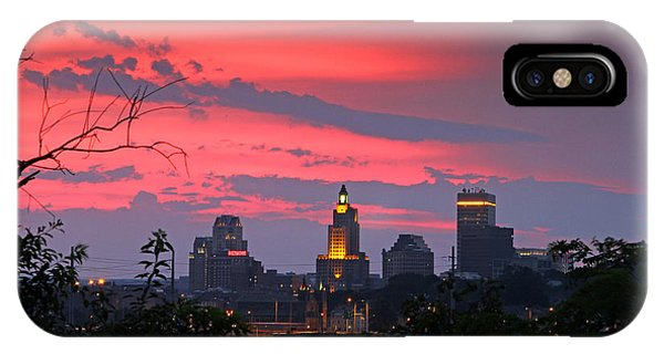 4th Of July Sunset Providence Ri Phone Case by Butch Lombardi