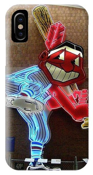 Chief Wahoo IPhone Case