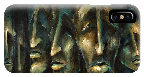 Cosmetic iPhone Case -  ' Jury Of Eight ' by Michael Lang
