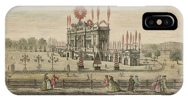 A Fireworks Display At Green  Park Phone Case by Mary Evans Picture Library