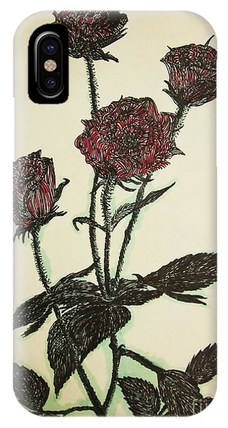 A Garden Rose IPhone Case
