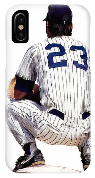 A Moment To Remember II Don Mattingly  IPhone Case