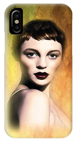 A Portrait Of Isabella IPhone Case