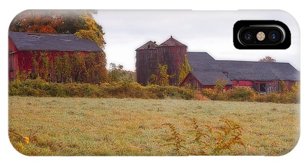 Abandoned Connecticut Farm  IPhone Case