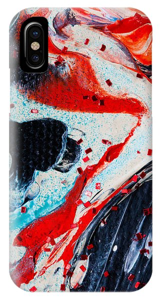 Abstract Original Artwork One Hundred Phoenixes Untitled Number Fifteen IPhone Case
