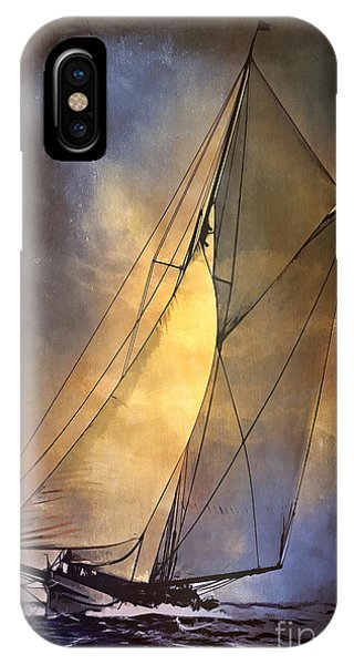 America's Cup  1887 IPhone Case